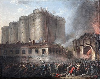 Musée de la Révolution française - Image: Prise de la Bastille IMG 2250