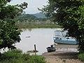 Puerto de llegada a Las Pampas, al fondo el rio Lempa - panoramio.jpg