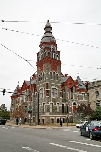 Pulaski County, Arkansas - Image: Pulaski county arkansas courthouse