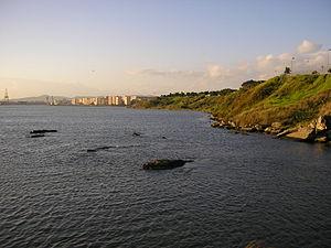 Playa del Barranco - Image: Punta paredones
