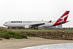 Qantas (VH-EBS) Airbus A330-202 departing Sydney Airport (1).jpg