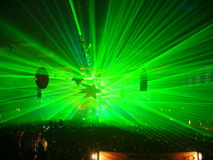 Qlimax 2008 at Gelredome in Arnheim. View from...