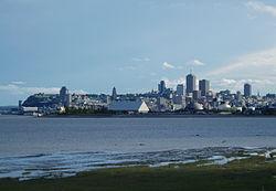 Skyline van Québec