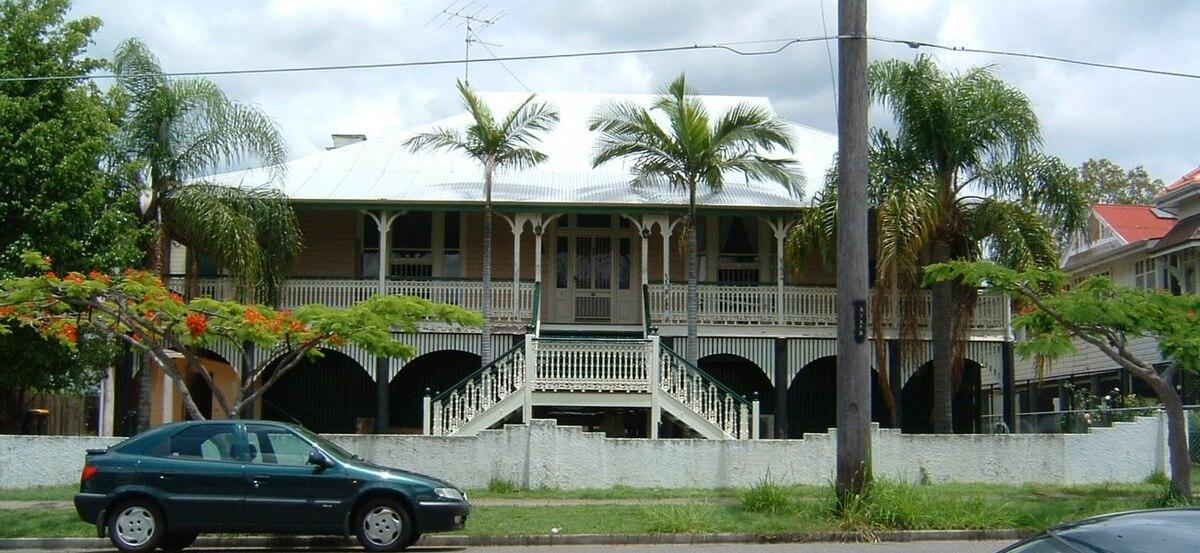 Architecture Queenslander Wikip 233 Dia