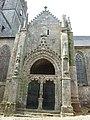 Quimperlé 03 Eglise Notre-Dame de l'Assomption portail nord.jpg