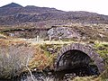 Quinag and a lovely old Road Bridge - geograph.org.uk - 120917.jpg