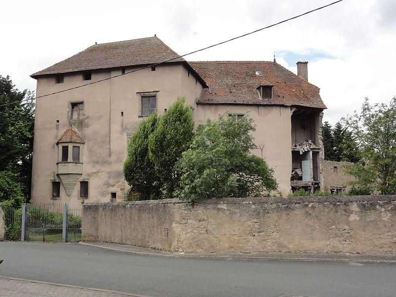Réchicourt-le-Château (Moselle) château