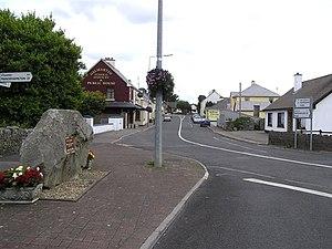 Kinlough - Kinlough village.