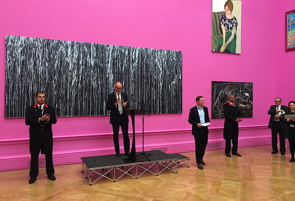 RA Summer Exhibition 2015, Varnishing Day, opening speech Christopher Le Brun