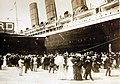 RMS Lusitania docks in New York, September 13, 1907 (29694830764).jpg