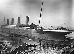 RMS Titanic in Thompson Graving Dock.jpg