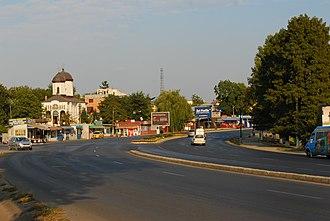 Pantelimon, Bucharest - Image: RO IF DN3 Pantelimon 2
