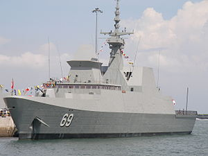 Republic of Singapore Navy - RSS Intrepid at Changi Naval Base during the Navy Open House 2007