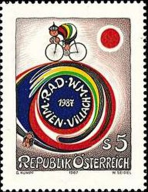 1987 UCI Road World Championships - Image: Rad WM Wien Villach 1987