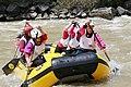 Rafting in the Borjomi valley, Georgia.jpg