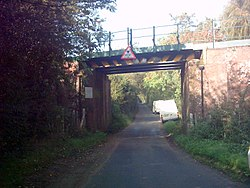Railway Bridge at Lower Common - geograph.org.uk - 261893.jpg