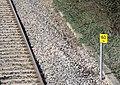 Railway Mileage Post at Kennington - geograph.org.uk - 1224823.jpg