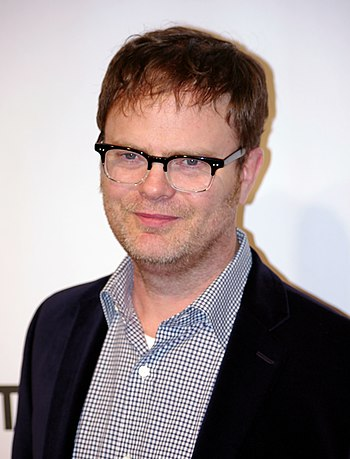 English: Rainn Wilson attending the premiere o...