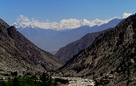 Rakaposhi Haramosh massif as seen from Fairy Meadows.jpg