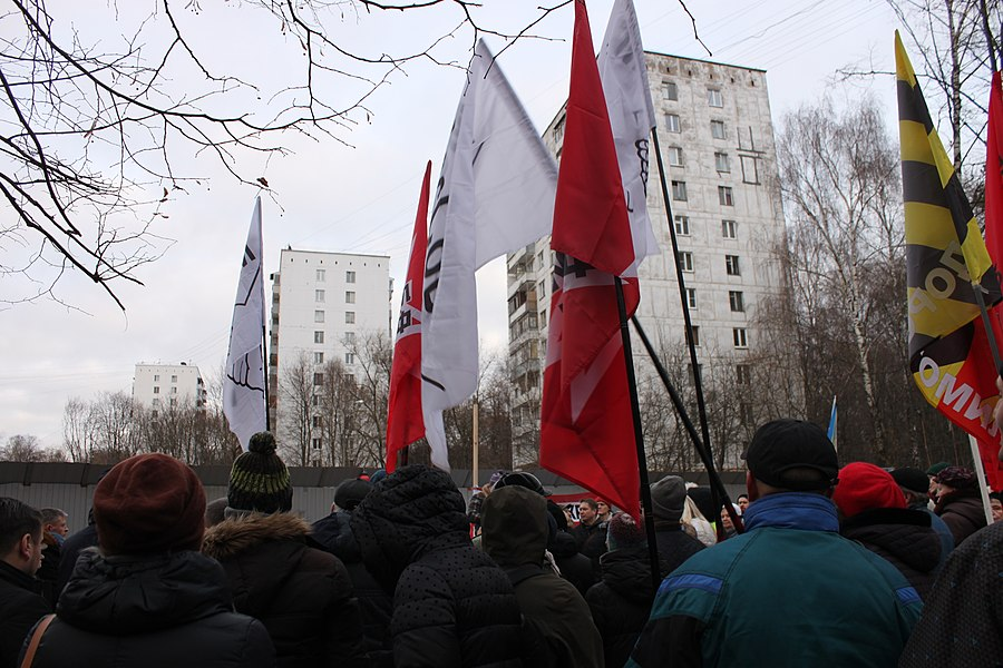Rally for the termination of construction and restoration of the square (2018;11;17) 74.jpg