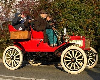 Rambler (automobile) - Rambler 7HP Rear-entrance tonneau 1904