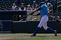 Ramon Torres hitting his 2nd homer of the season (29404202561).jpg