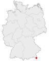 Ramsau (Berchtesgaden) location in germany.png
