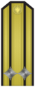 Rank insignia of Капитан II ранг of the Bulgarian Navy.png