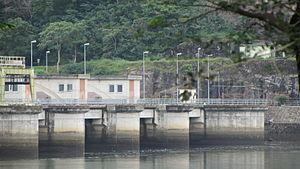 Mahaweli Development programme - Image: Rantembe Dam December 2013 1