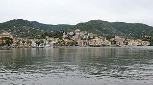 Blick auf Rapallo