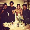 Raul Julia Levy and Hector Macho Comacho in 1992.JPG