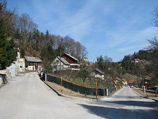 Ravenska Vas Place in Upper Carniola, Slovenia