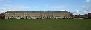 Ravenswood, Ipswich - Part of Bonny Crescent, overlooking the Cricket pitch in Ravenswood.