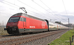 Os comboios s�o o transporte p�blico mais usado pelos su��os.