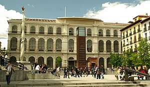 Madrid Royal Conservatory - Conservatory's building