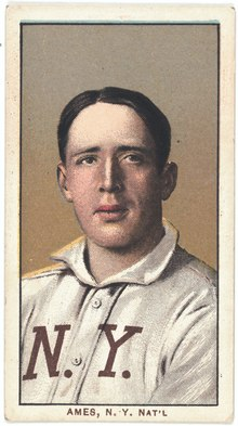 Red Ames, New York Giants, baseball card portrait LCCN2008676471.tif