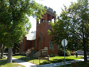A River Runs Through It (film) - The Redeemer Lutheran Church in Livingston, Montana, used for the Presbyterian church scenes.
