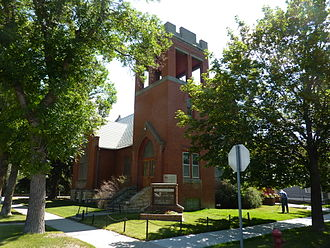 A River Runs Through It (film) - The Redeemer Lutheran Church in Livingston, Montana, used for the Presbyterian church scenes.