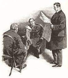 an analysis of the read headed league by sir arthur conan doyle The the adventures of sherlock holmes red headed league the adventures of sherlock holmes study guide contains a biography of sir arthur conan doyle.