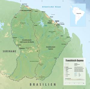 Französisch Guayana