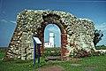 RemainsOfStEdmundsChapelAndLighthouseHunstanton(ChristineMatthews)Jul1992.jpg