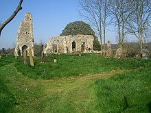 Remains of St Margaret's, West Raynham - geograph.org.uk - 401694.jpg