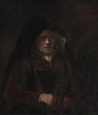 Rembrandt follower - An Old Woman - KMS3885.jpg