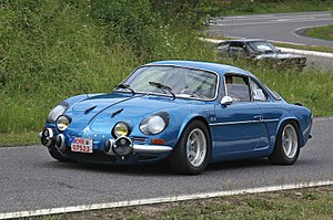 Alpine (automobile) - Alpine A110 Berlinette 1300G.