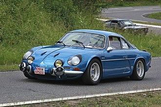 Alpine (automobile) - Alpine A110 Berlinette 1300G.