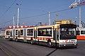 Renault Mégabus (vue avant droit) - TPG (Genève * printemps 1989).jpg