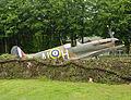 Replica Spitfire at RAF Harrowbeer.jpg