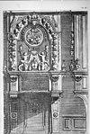 reproductie van tekening in bezit van archief, detail interieur - apeldoorn - 20023373 - rce