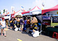 Republic of China Naval Academy Recruit Booth in 2015 Zuoying Naval Base Open Day 20151024.jpg
