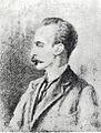 Retrato al lápiz de José Martí hecho por Cirilo Almeida Crespo en Nueva York 1893.jpg